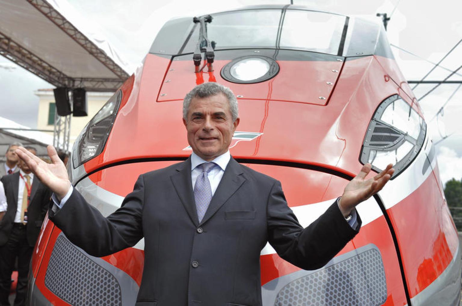 Presentazione del treno Frecciarossa 1000