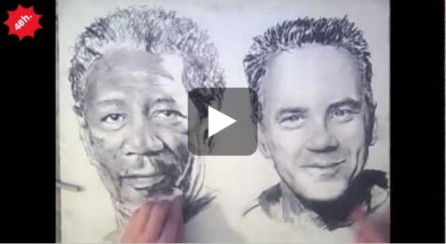 disegnare 2 mani