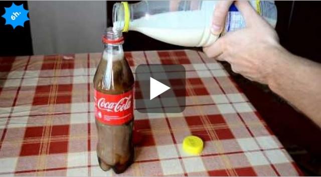 latte e cocacola