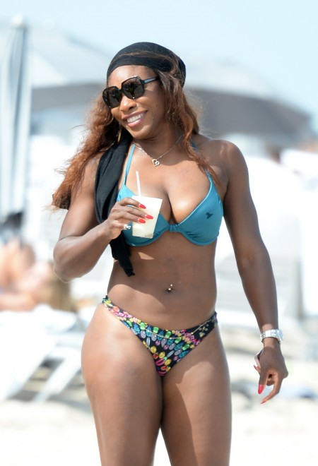 Avete mai visto Serena Williams in bikini?