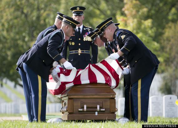 Arlington Burial Afghanistan