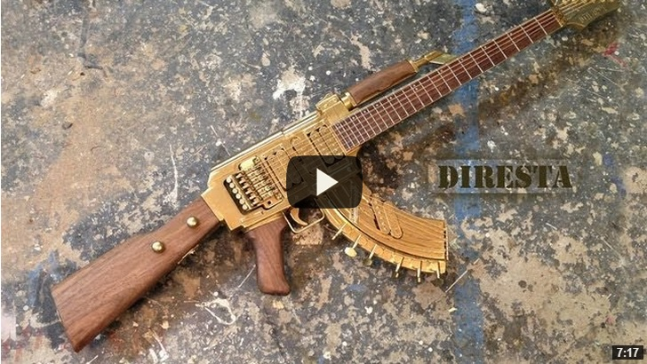 chitarra ak47