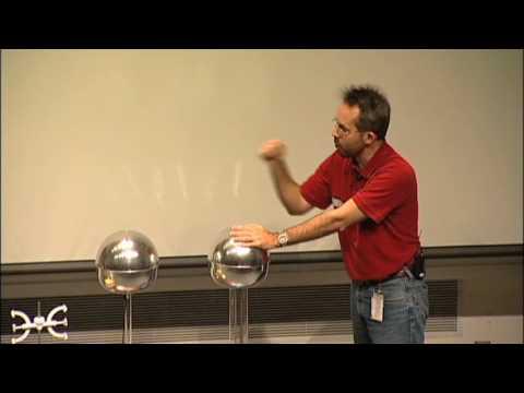 Should-a-Person-Touch-200000-Volts-A-Van-de-Graaff-generator-experiment