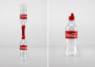 coca cola 2nd life campaign bottle caps 3
