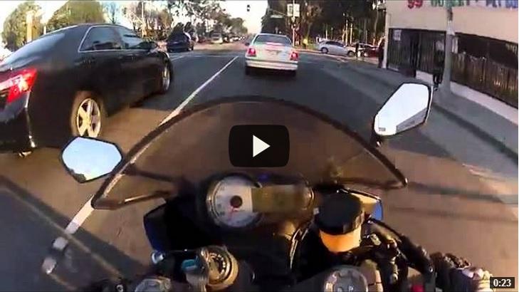 motociclista morte
