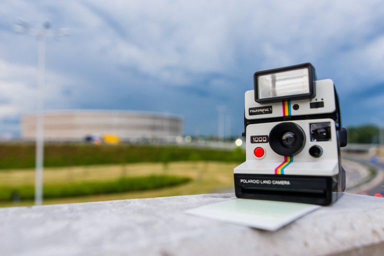 foto effetto polaroid