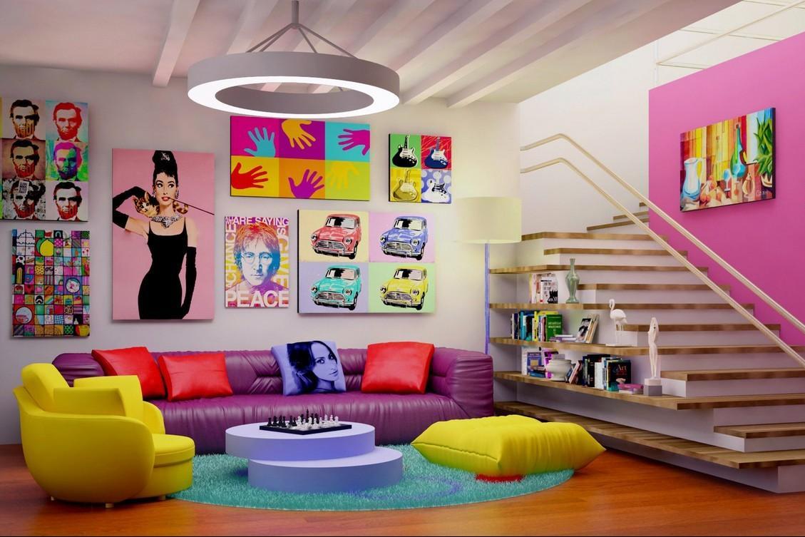 Come si arreda casa secondo lo stile pop art - Come si arreda una casa ...
