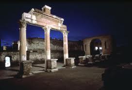 Trasgressione tra gli scavi di Pompei