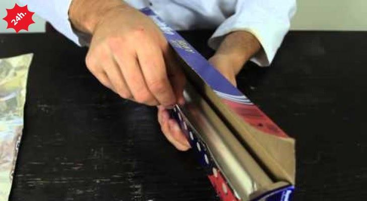 segreto carta alluminio