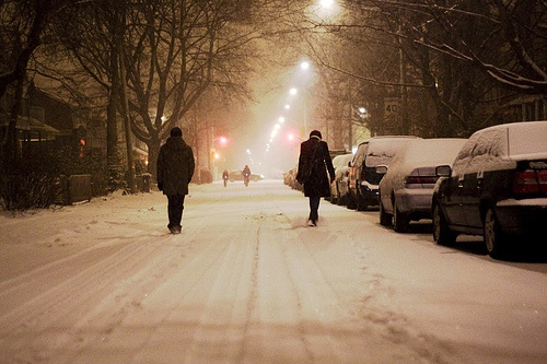 snow-crunching