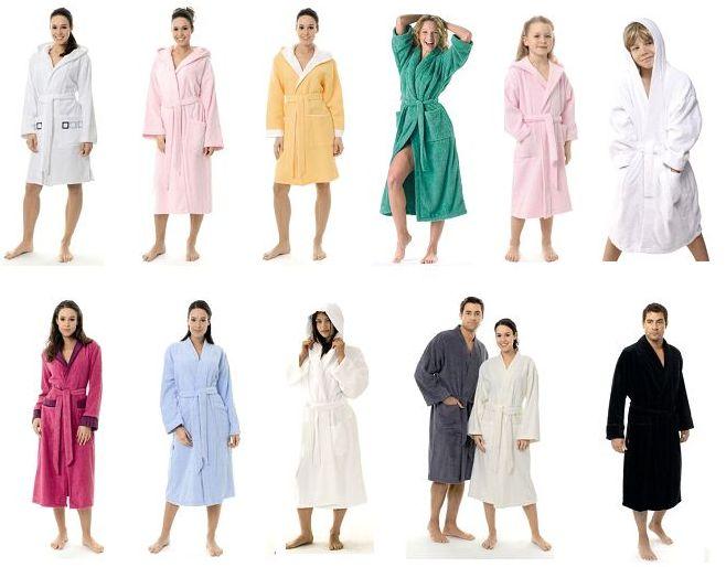 types-of-bathrobes
