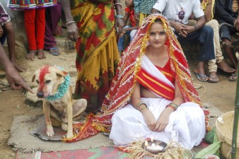 cane-sposa-ragazza-india
