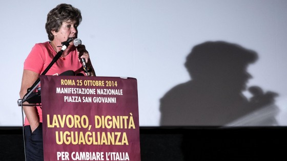 Pd diviso, Cgil in piazza a Roma