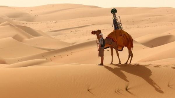 Google col cammello per mappare il deserto di Liwa