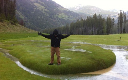 L'erba galleggiante, lo strano fenomeno