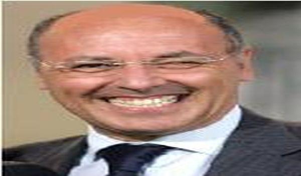 Visita a sorpresa di Giuseppe Marotta sul campo della Pro Vercelli
