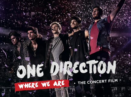 "Come vedere in streaming ""One direction-Where we are"""