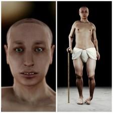 ricostruzione facciale tutankhamon