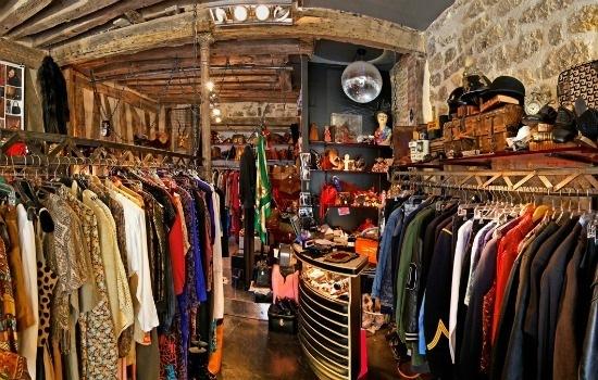 Dove fare shopping nel quartiere marais a parigi for Retro shop paris