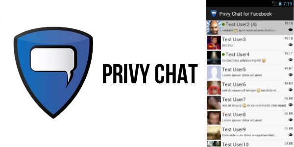 Privy-Chat messaggi letti su facebook chat
