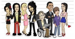 celebrity-cartoon