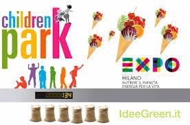 Area tematica Children Park di Expo Milano 2015