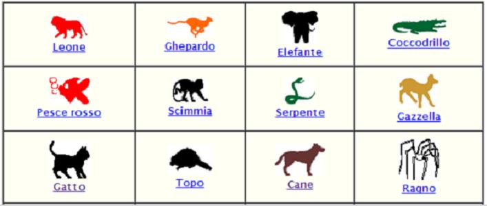 test-degli-animali