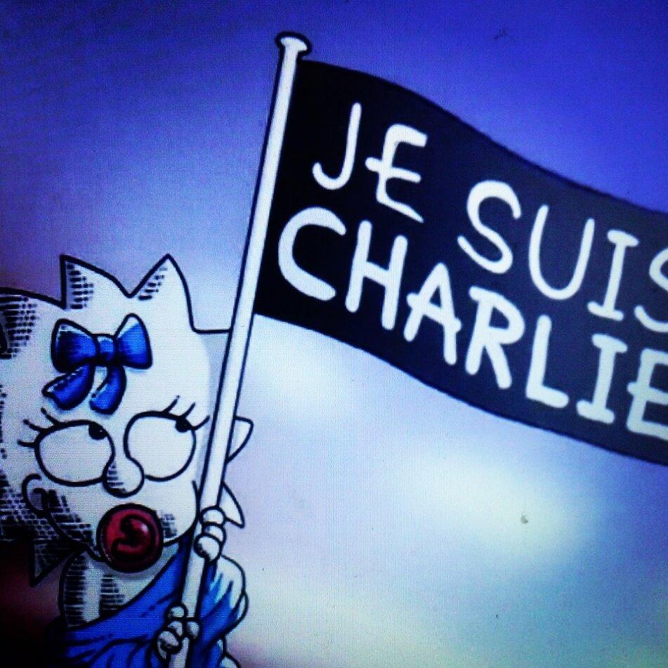 Vignetta Simpson Charlie Hebdo