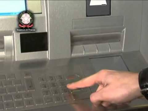 Clonazione Bancomat e carte di credito: video