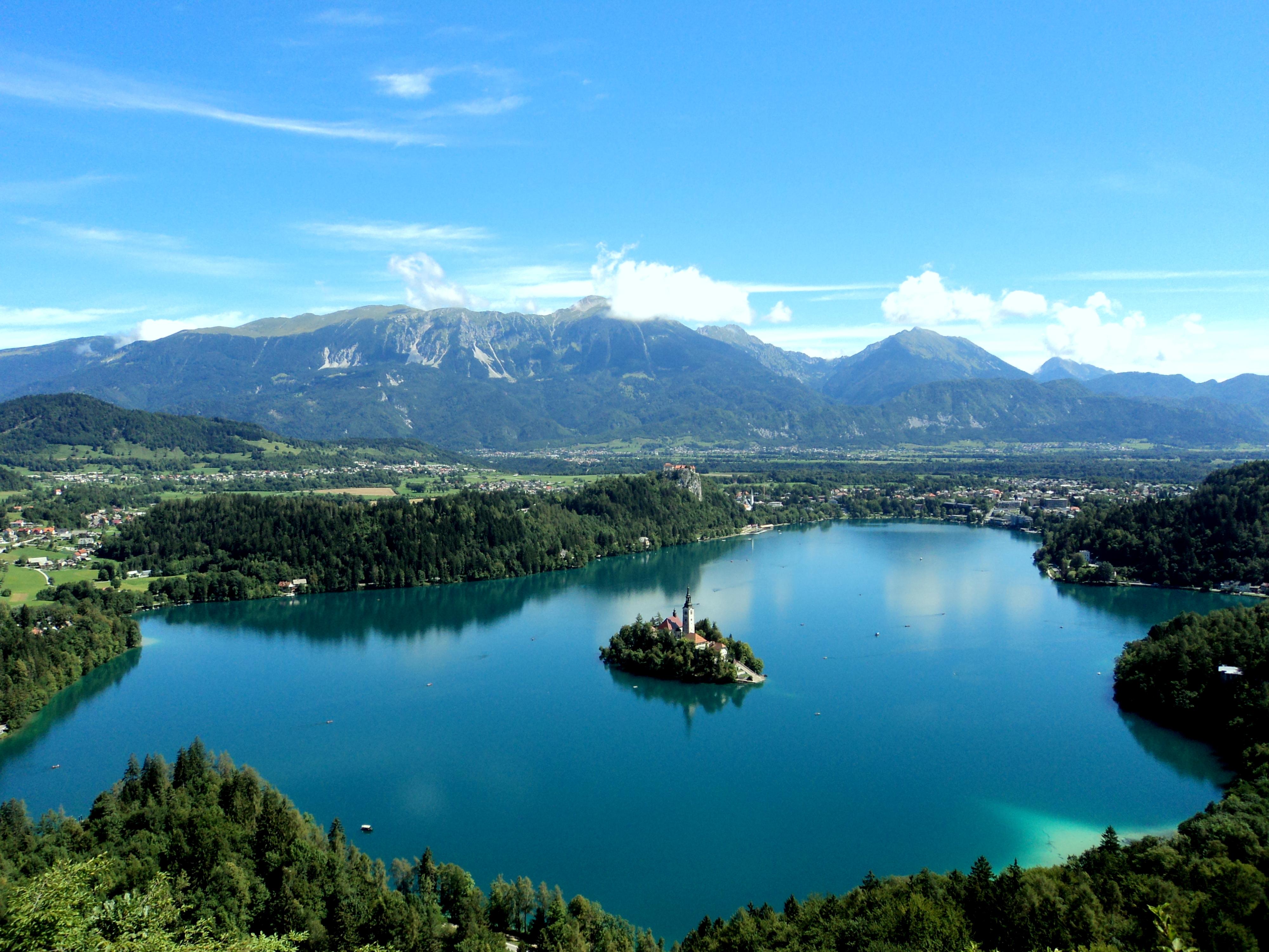 Avete bisogno di relax? Visitate l'Isola di Bled in Slovenia 2015 chiesa