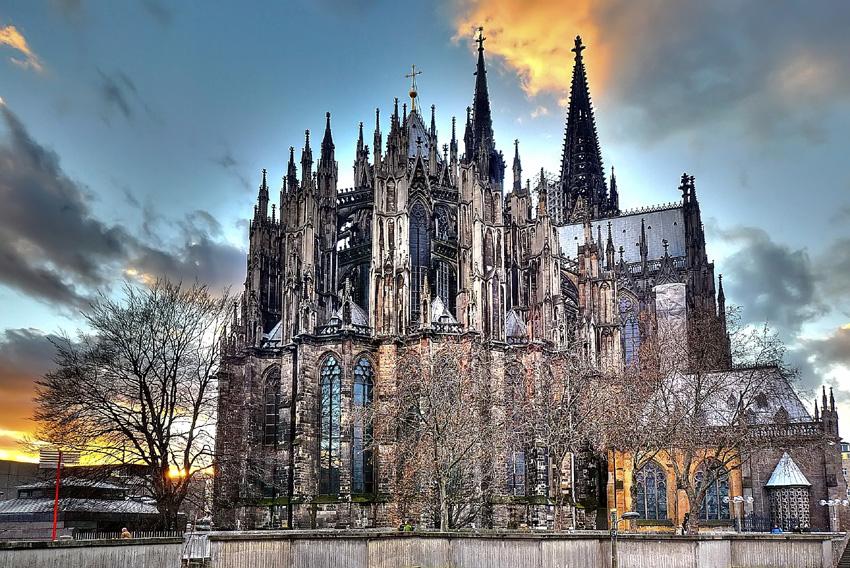 Duomo di Colonia stile gotico 2015 germania