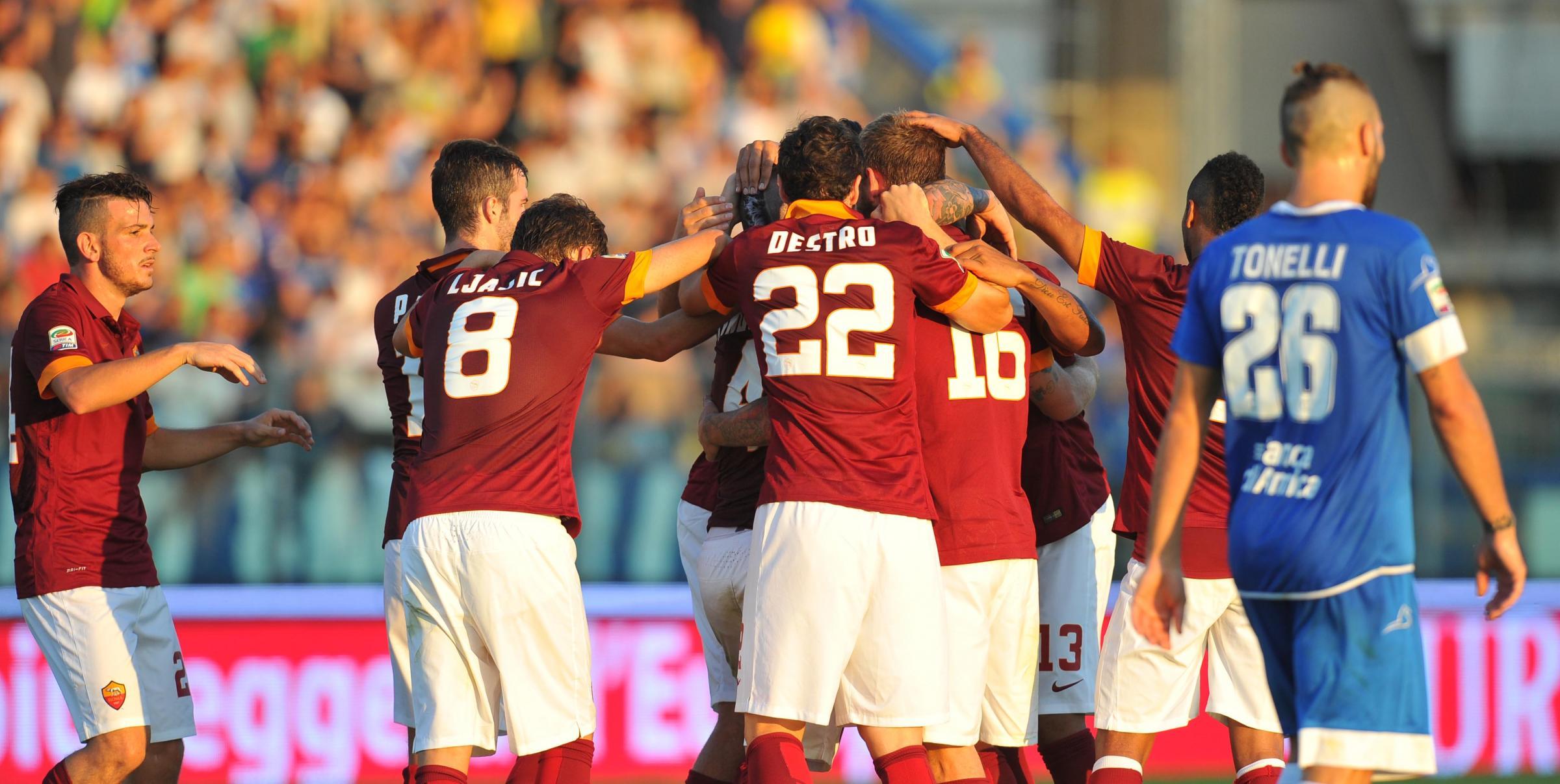 Probabili formazioni Roma - Empoli 21 giornata Serie A 2015