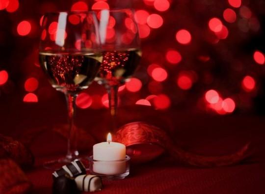 Idee centrotavola per cenone San Valentino