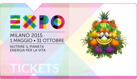 Come funziona biglietto data aperta Expo 2015