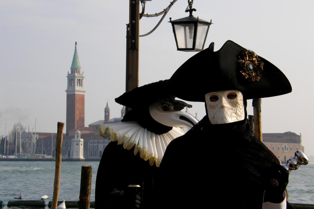 Maschere tipiche Carnevale di Venezia