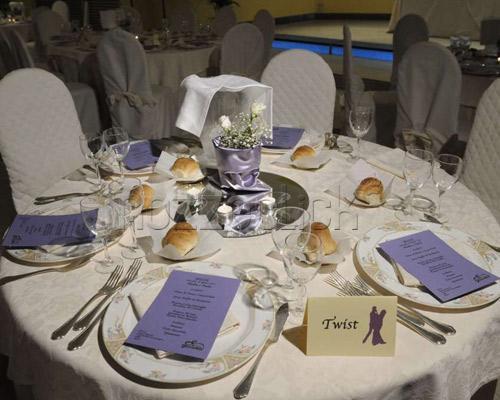 Addobbi tavoli matrimonio lilla decoupageitalia