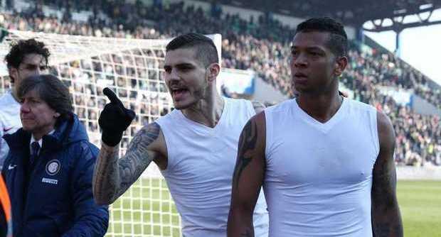 Icardi insulta tifosi interisti in Sassuolo - Inter