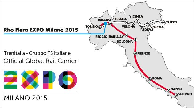 Offerte Trenitalia per Expo Milano 2015