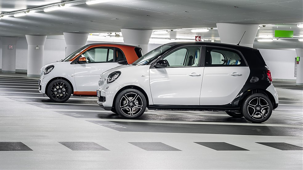 Differenza fra Smart ForTwo e Smart ForFour