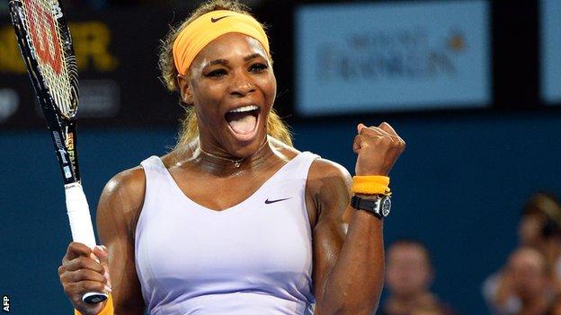 Serena Williams titoli grande slam