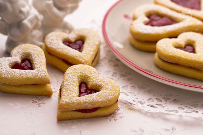 ricette dolci a forma di cuore san valentino