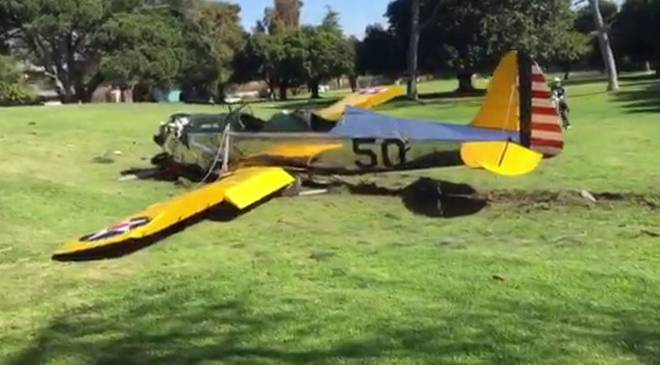 Com'è avvenuto incidente aereo Harrison Ford
