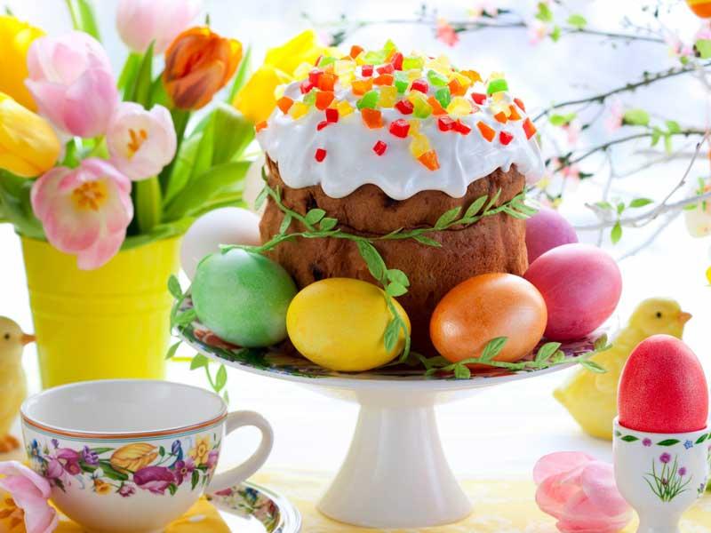 Apparecchiare la tavola Pasqua