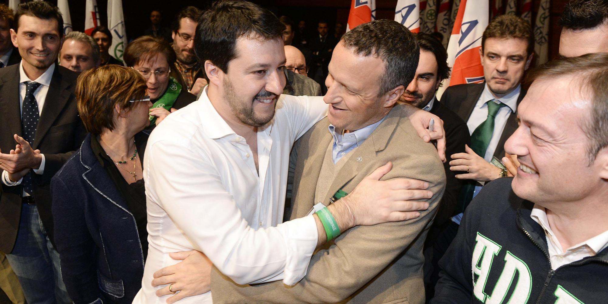 Salvini e Tosi insieme prima della lite