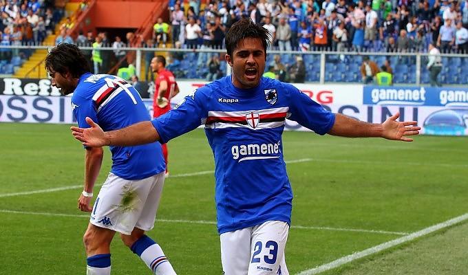 Eder, autore del gol vittoria