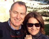 Gianni De Biasi e moglie