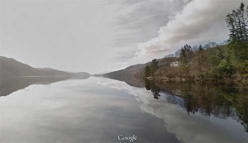 Google presenta il mostro di Loch Ness