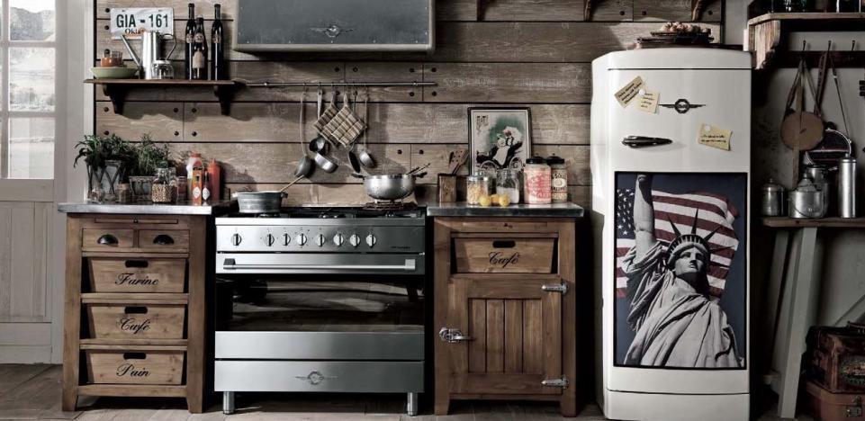 Mobili per cucina vintage design casa creativa e mobili ispiratori - Cucine anni 40 ...