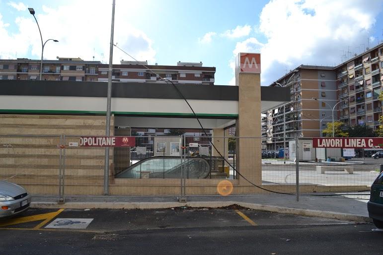 stazione piazza Lodi Roma Metro C