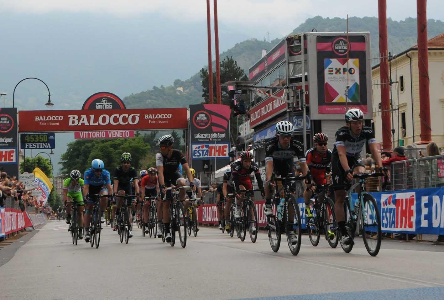 Giro d'Italia Montecchio-Jesolo 22 maggio 2015 Giro d'Italia